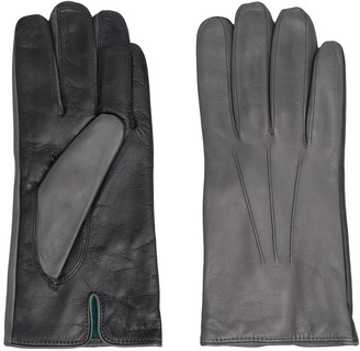 Paul Smith Two-Tone Leather Gloves