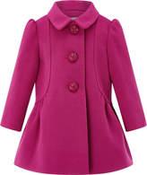 Monsoon Baby Hannah Hot Pink Coat