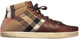 Burberry Hightop Basketball Shoes