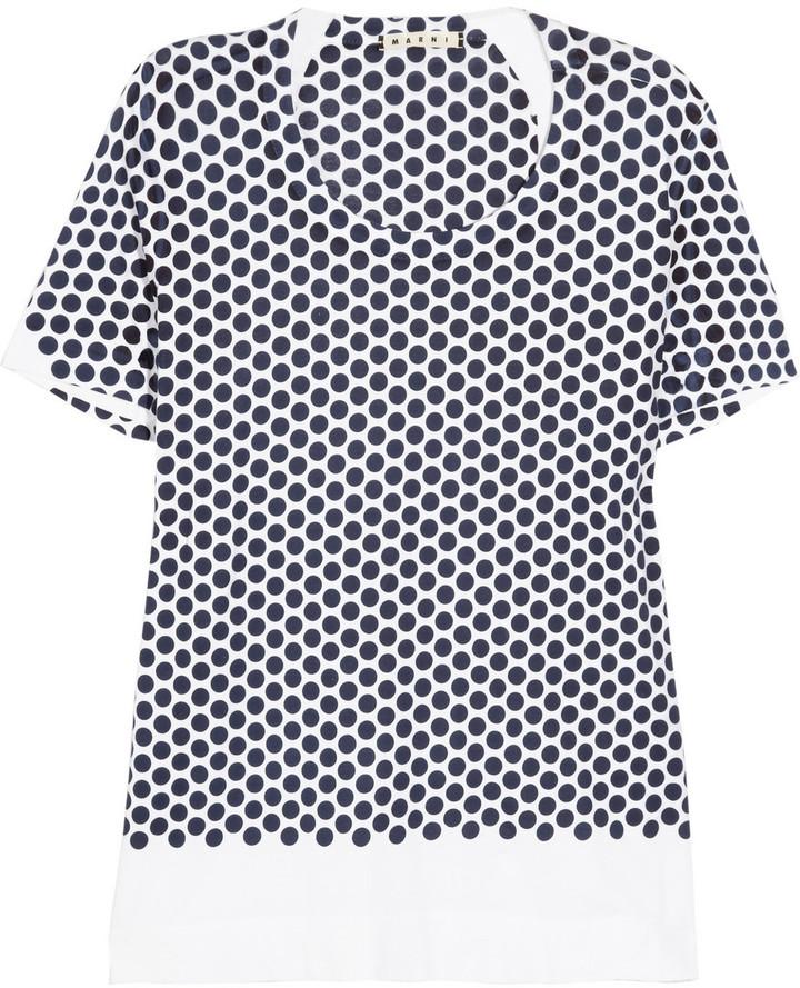Marni Spot-print cotton T-shirt