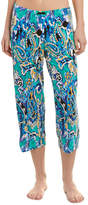 Ellen Tracy Cropped Pajama Pant