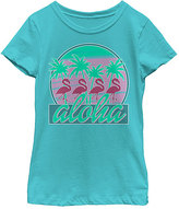 Fifth Sun Tahiti Blue 'Aloha' Tee - Toddler & Girls