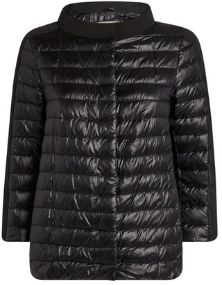 Herno Side Stripe Quilted Jacket