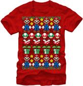 Fifth Sun Red Mario Holiday Sweater Tee - Men's Regular