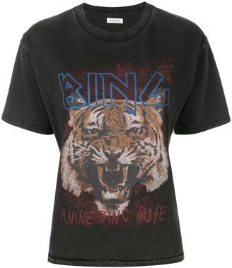 Anine Bing Tiger print T-shirt