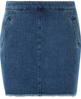 Current/Elliott Denim Mini Skirt