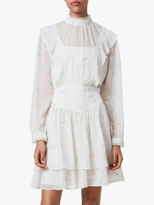 AllSaints Aislyn Dress, Chalk white
