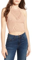 Ten Sixty Sherman Women's Crochet Halter Top