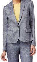Anne Klein Women's Linen Twill Jacket