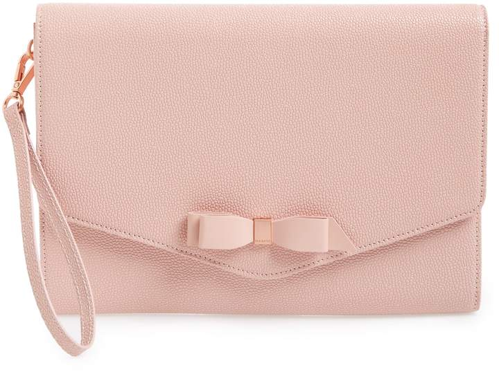 4dd0c6c429f7 Leather Envelope Clutch With Strap - ShopStyle