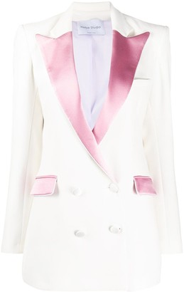 Hebe Studio Double Breasted Suit Jacket