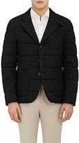Montedoro MEN'S WOOL-BLEND QUILTED PUFFER JACKET