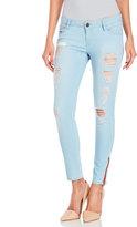 etienne marcel Javel Cropped Zipper Skinny Jeans