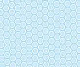 686 SheetWorld Fitted Basket Sheet - Pastel Blue Bubbles Woven - Made In USA - 13 inches x 27 inches (33 cm x cm)
