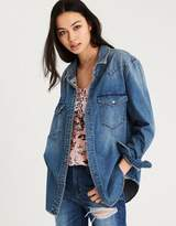 American Eagle Outfitters AE OVERSIZED DENIM SHIRT