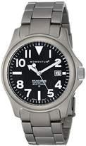 """Momentum Men's 1M-SP00B0 """"Atlas"""" Titanium Watch"""