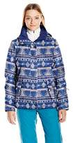Roxy Snow Junior's Jetty Printed Regular Fit Snow Jacket
