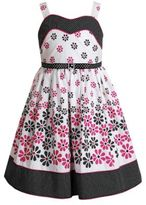 Sweet Heart Rose SWEETHEART ROSE Girls 2-6x Floral Dot Crinoline Dress