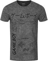 Nintendo Men's Gameboy Grey T-shirt