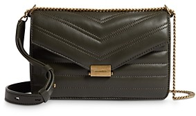 AllSaints Justine Quilted Leather Crossbody