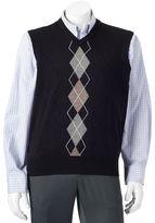 Dockers Men's Classic-Fit Argyle Comfort Touch Sweater Vest