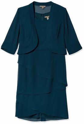 Le Bos Women's Glitter Jacket Dress