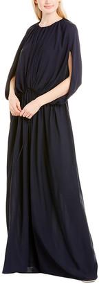 The Row Regina Silk Blouson Dress