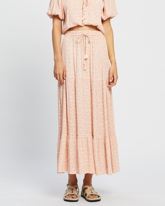 Barefoot Blonde - Women's Maxi skirts - Jada Skirt - Size One Size, S at The Iconic