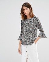 Warehouse Ditsy Floral Tee