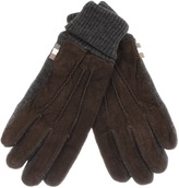 Aquascutum London Vector Gloves Brown