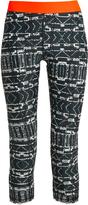 The Upside NYC Jungle Shibori-print performance leggings