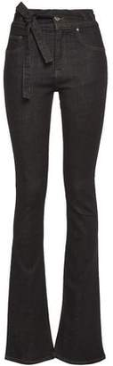 Victoria Victoria Beckham Victoria, Victoria Beckham Belted High-rise Bootcut Jeans