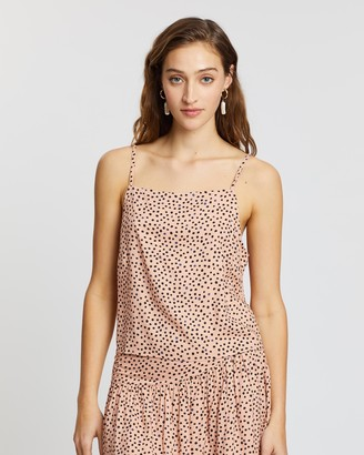 All About Eve Painted Dot Cami