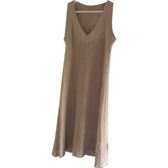 John Galliano Gold Dress for Women