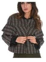 Suoli Women's Grey Cotton Jacket.