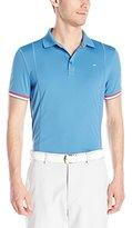 J. Lindeberg Men's Willia Sli Tx Jersey+ Golf Polo Shirt