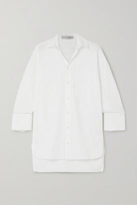 Palmer Harding Taraz Striped Stretch Cotton-poplin Shirt