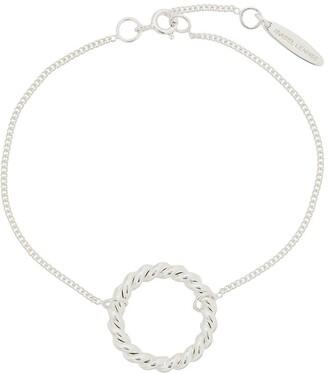 Isabel Lennse Twisted Circle Bracelet
