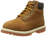 Timberland 6 Inch Classic Premium WP Waterproof Boot (Toddler/Little Kid/Big Kid),Rust Nubuck/Honey,10.5 M US Little Kid