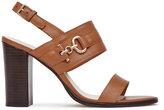 Reiss Adelina Block-Heel Sandals