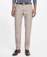 Brooks Brothers Non-Iron Clark Fit Houndstooth Chinos
