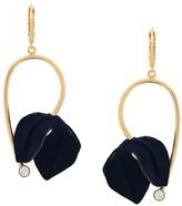 Marni flower drop earrings