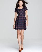 Dress - Allison Plaid Cap Sleeve