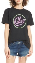 Obey Women's Neon Graphic Tee