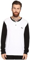 Obey Note Long Sleeve Henley