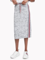 Tommy Hilfiger Essential Stripe Knit Midi Skirt