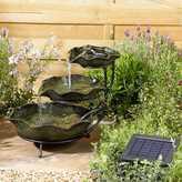 Kaleidoscope Solar Powered Frog Lilypad Cascade Water Feature
