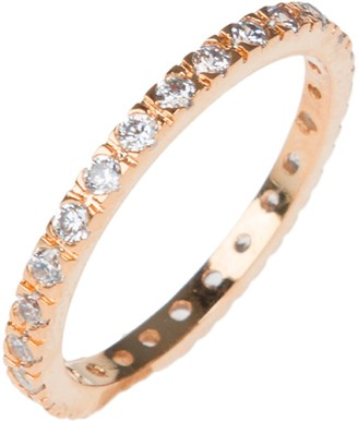 Round CZ Eternity Classic Band Ring