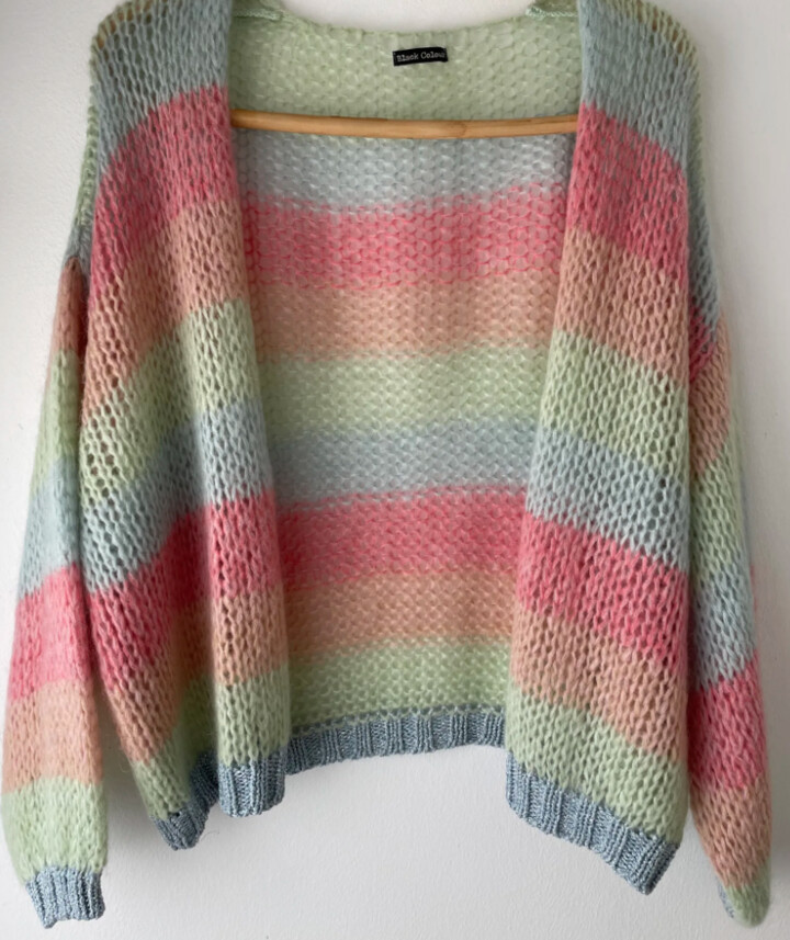 Thumbnail for your product : Margaux Neopolitan Stripe Cardigan