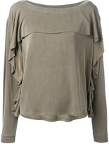 Diesel Sole blouse - women - Spandex/Elastane/Cupro/Rayon - XS